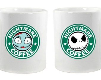 Nightmare Coffee Pair Mugs