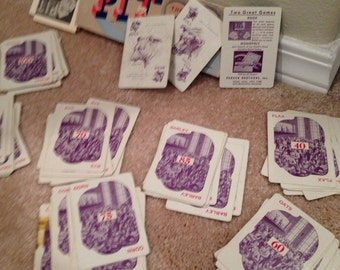 1947 Card game of PIT  by parker brothers The worlds liveliest game!