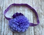 Ombre Purple Headband Infant/Toddler Headband- Ombre Purple Headband Infant/Toddler Headband--Photo Prop- Photography Prop- Newborn