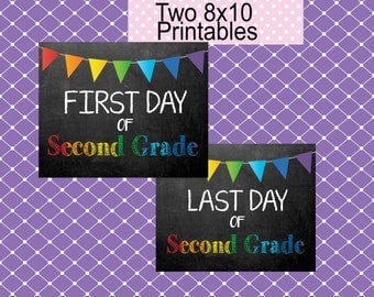 Second Grade Back to School Printable