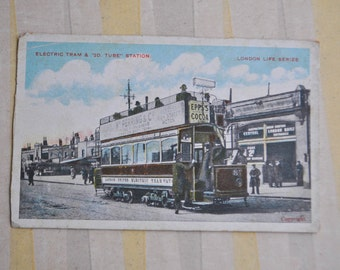 LONDON LIVE SERIES Antique British Postcard.