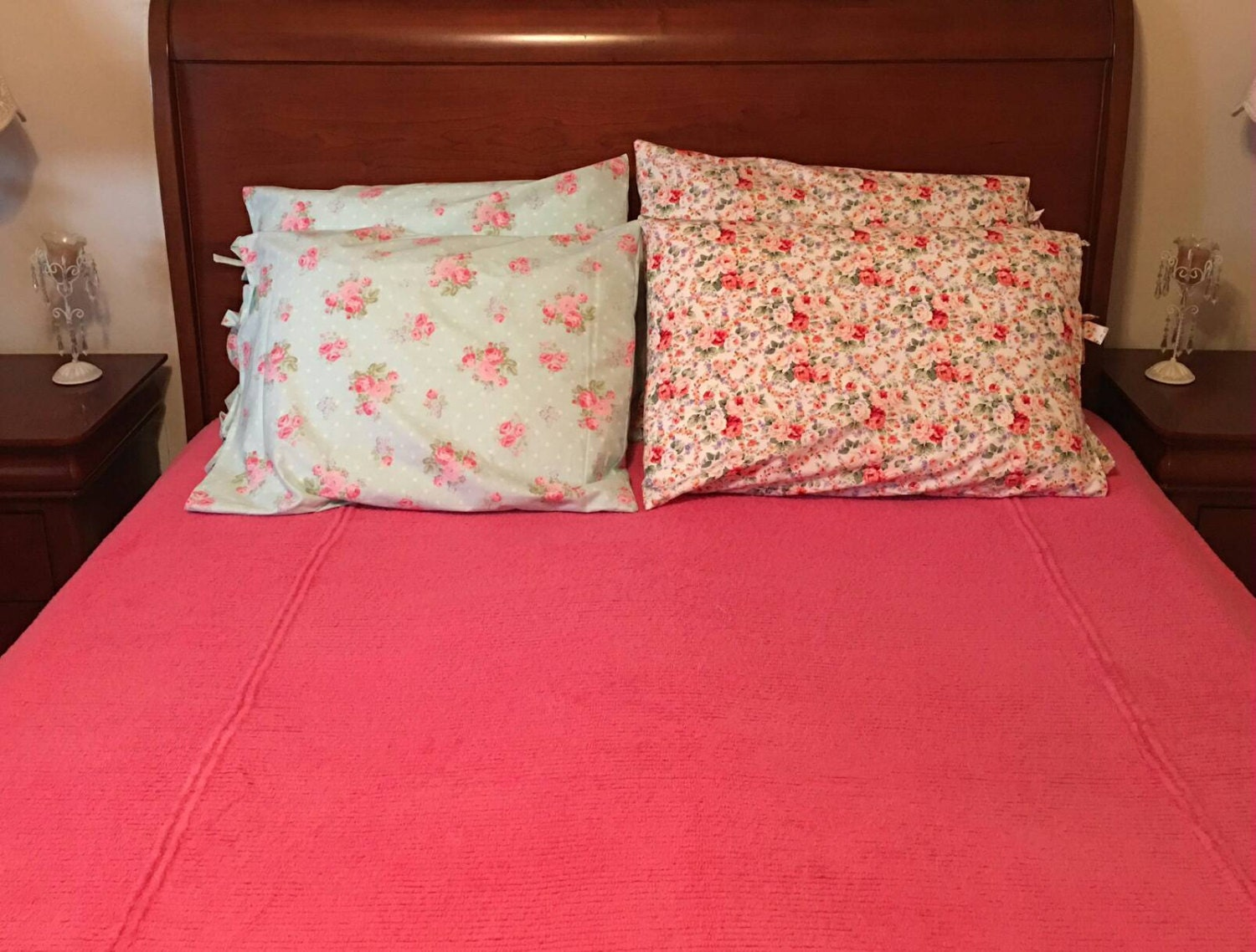 Shabby Chic Pillow Images : Shabby chic pillow case/ Cottage pillow cases/ Shabby Chic