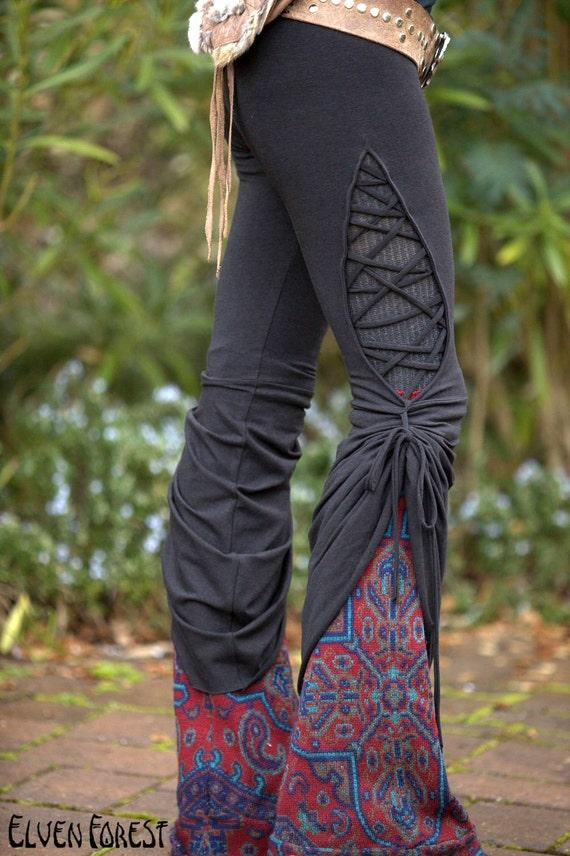 Stained Glass Teardrop Dance Pants - Festival Clothing Yoga Wear