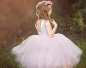 Violette Tulle Dress, Flower girl or Party Dress PDF PATTERN: 12 months- 10 years, NEW, All Sizes Included