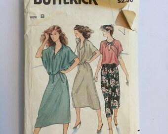 1980s Vintage Butterick pattern #6479