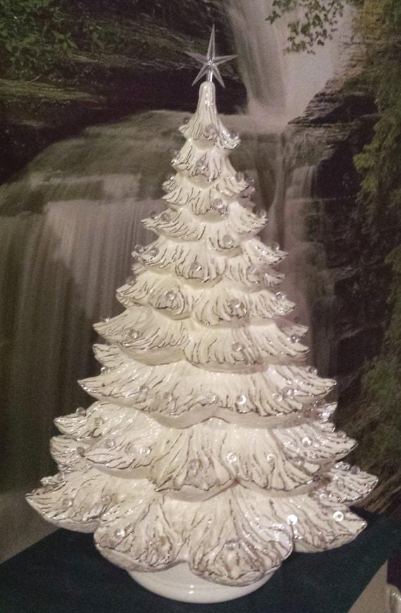 Huge 2324large Ceramic Christmas Tree Music