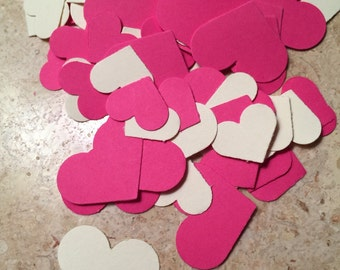 Pink and Cream Confetti/Gender Reveal/Tea Party Confetti