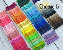 ON SALE Girls Hair Clips, 6 Tuxedo Alligator Clips, You Choose From 77 Colors, Starter Set, Babies Toddler Girl Women