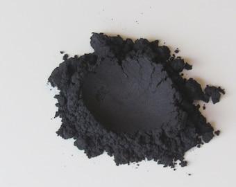 Mineral Makeup, Natural Eye Shadow, Vegan Makeup, Natural Eye Liner, Midnight Black Pigment