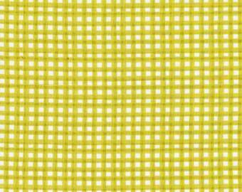 Cloud9 Organic Fabrics - Nursery Basics - Gingham | Grass 1/2 YD
