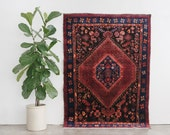 VAHID 5x7 Hand Knotted Persian Wool Rug