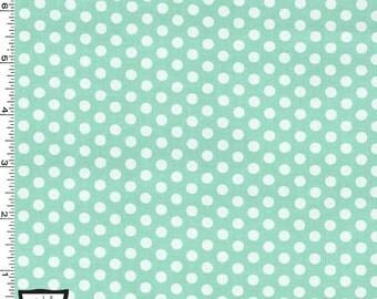 Seafoam Kiss Dots from Michael Miller