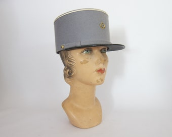 Military Hats Algerian French North African Kepi  Wool size 6 7/8