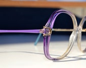 Vintage Gucci sunglasses eyewear frame GG2309 made in Italy purple bleu
