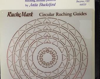 Thimble Works Circular Ruching Guide - Anita Shackelford - NIP