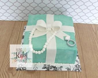 Tiffany Box Cake- Local Order