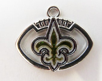 23mm*20mm. New Orleans Saints Inspired Charm/Pendant, (y9)