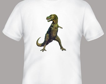 Awesome Vintage TRex, Tyrannosaurus Rex Dinosaur Illustration Adult T-Shirt
