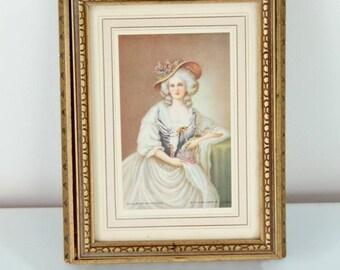 ON SALE Antique Handkerchief / Glove Box Trinket Jewelry Box