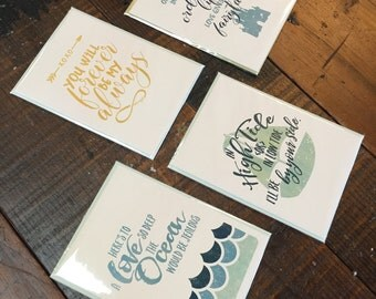 Pick Three - Greeting Cards - Everyday  Wedding  Love  Anniversary  Home  New Adventure