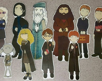 Harry Potter book mark (one)