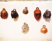 Vintage charms native american chief cracker jack metal celluloid collectible mid century