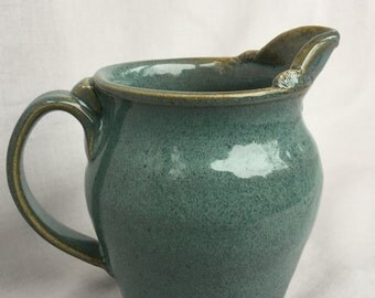 Pitcher creamer handmade on Etsy by Indianheadclay