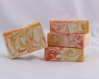SALE! Soap Energy - Sunshine Scented Soap, Handmade Cold Process Artisan Soap, Best Seller Citrus Scented