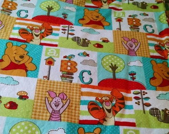 Winnie Pooh Tigger Piglet Baby Toddler Bedding Fitted sheet with standard pillowcase set