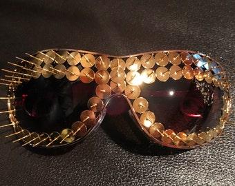 Spiked sunglasses