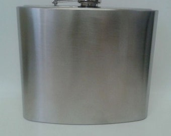 Liquor Flask - 32 ounces - Stainless Steel