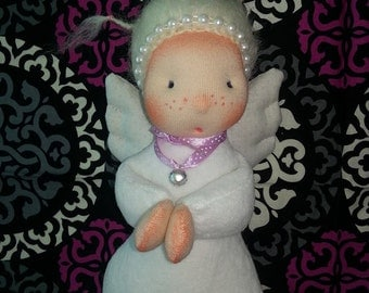 SALE - Waldorf doll  angel of wishes come true