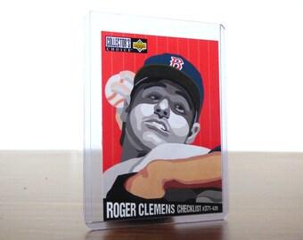 1994 Roger Clemens Upper Deck Baseball Card Checklist Collector's Choice #322 1990s
