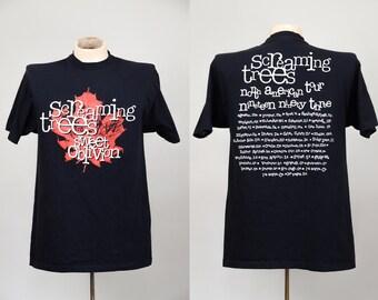90s Screaming Trees Seattle Grunge Sweet Oblivion Promo Tour T Shirt