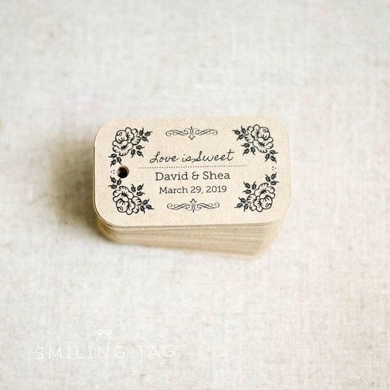 Rustic Wedding Gift Tags : is Sweet Rustic Wedding Favor TagsVintage Inspired Kraft Gift Tag ...