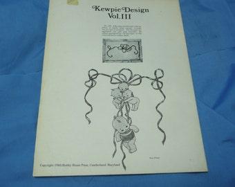 Kewpie Design Vol. III, Hobby House Press 1980