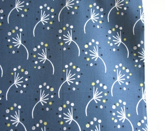 "Organic ""Dandelion"" Fabric by designer Monaluna from the Anya Collection - ONE HALF YARD Cut"