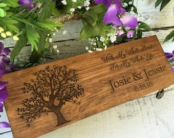 Wine Box, Wedding Wine Box, Love Letter Ceremony Box, Anniversary Gift, Wedding Gift