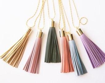 Boho Necklace - Long Tassel Necklaces