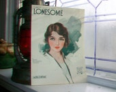 Vintage Sheet Music 1919 I Know What It Means To Be Lonesome