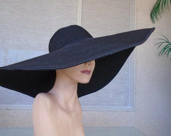 black Kentucky derby hat Amy