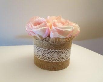 Mini Silk Flower Arrangement -Thinking of You, Get Well, Birthday arrangement -Anniversary Gift -Mother's day gifts arrangement