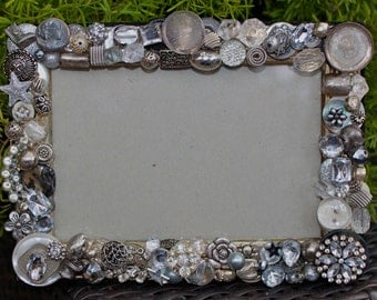 Old jewelry frame