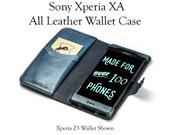 Xperia XA Leather Wallet ...