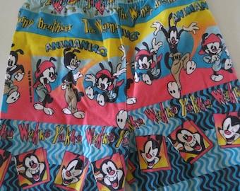 Animaniacs- shorts-cartoon shorts- children's shorts