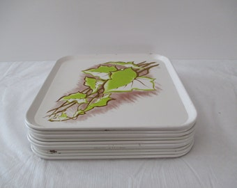 Vintage Metal Serving Tray's - Lap Tray's