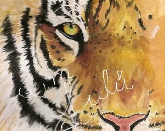bengal tiger printing