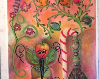 Pastel, Metamorphic, 18 x 24 Drawing