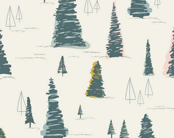 Art Gallery Fabrics - Heartland by Pat Bravo - Pinetree Daybreak
