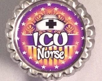 ICU Nurse (nurse 2)retractable id badge holder